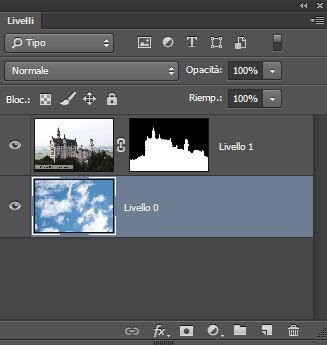 Pannello Livelli di Photoshop CC