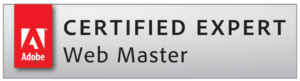 Badge Adobe Expert Webmaster