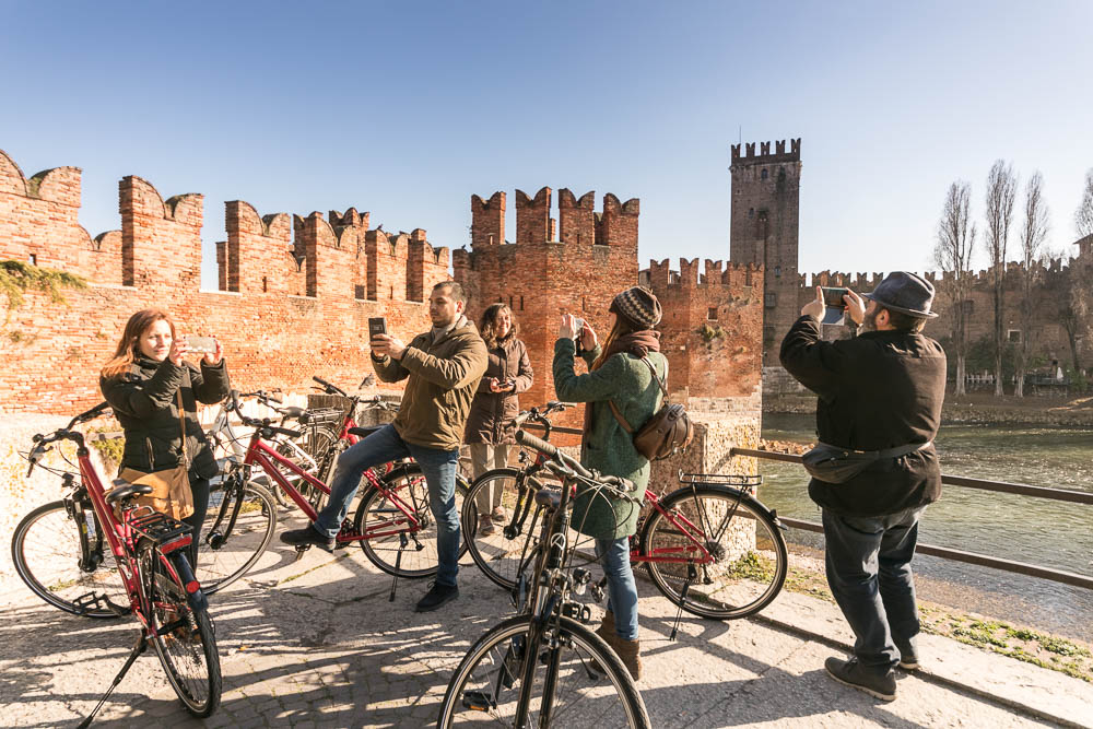 Verona Fahrrad Foto Tour in Verona