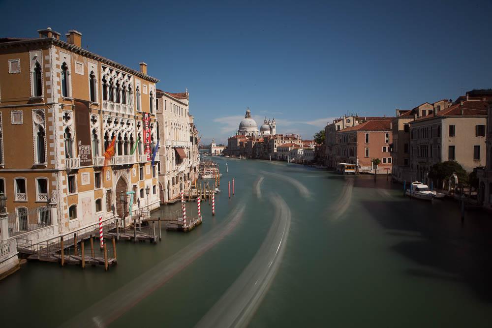 Senza Postproduzione Lightroom Canal Grande Venezia