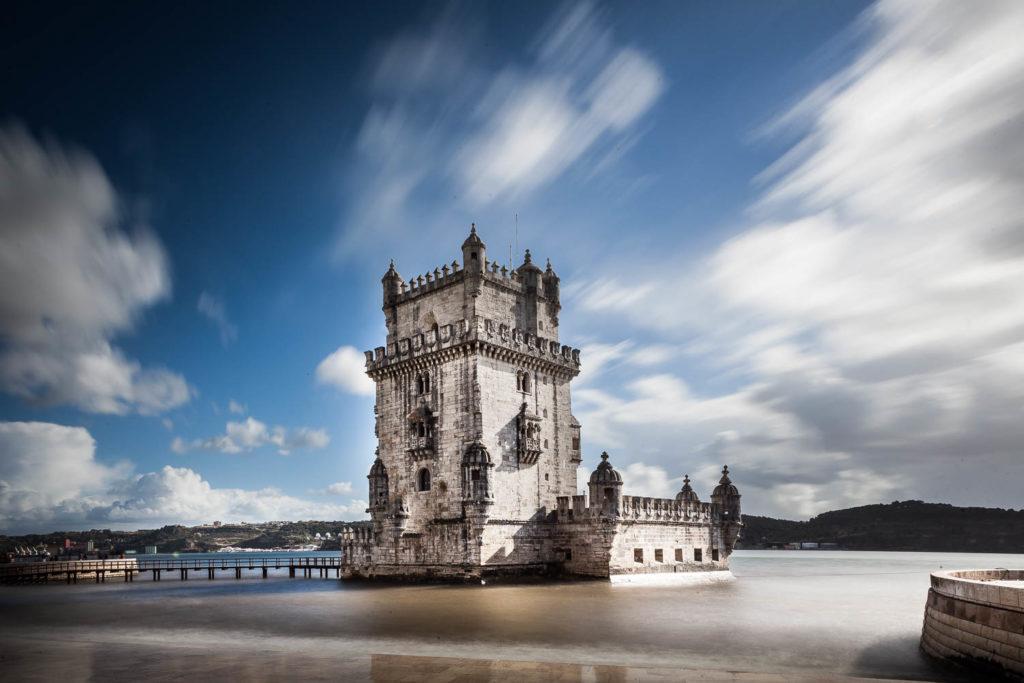 lTorre di Blem fotografata durante il workshop a Lisbona